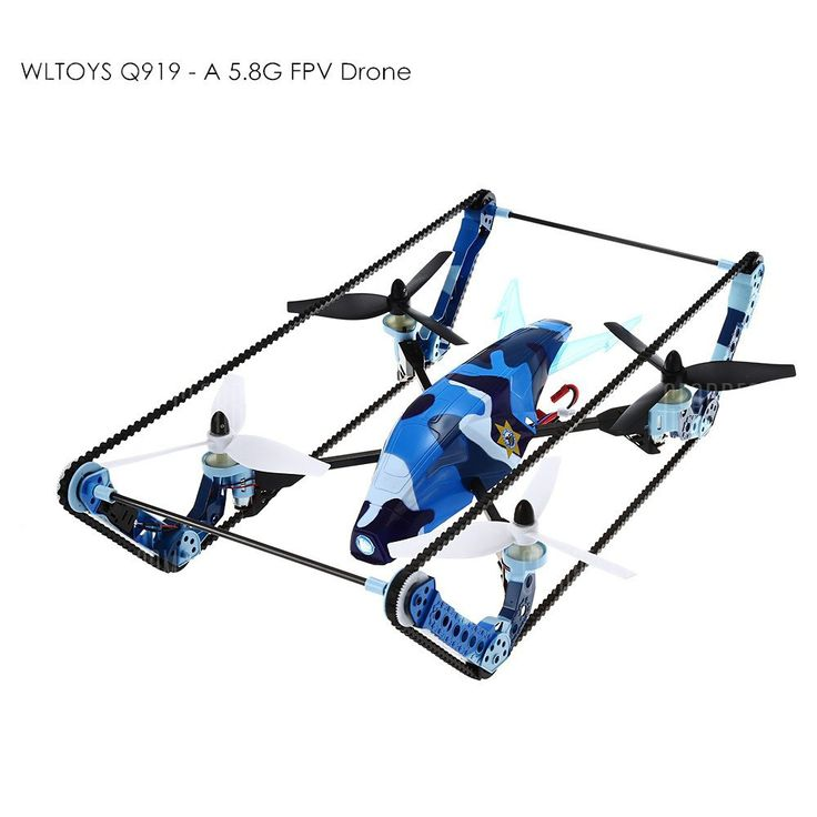 WLTOYS Q919 - A Quadcopter 2 in 1 Tank Drone #electronics #technology #gadgets #...