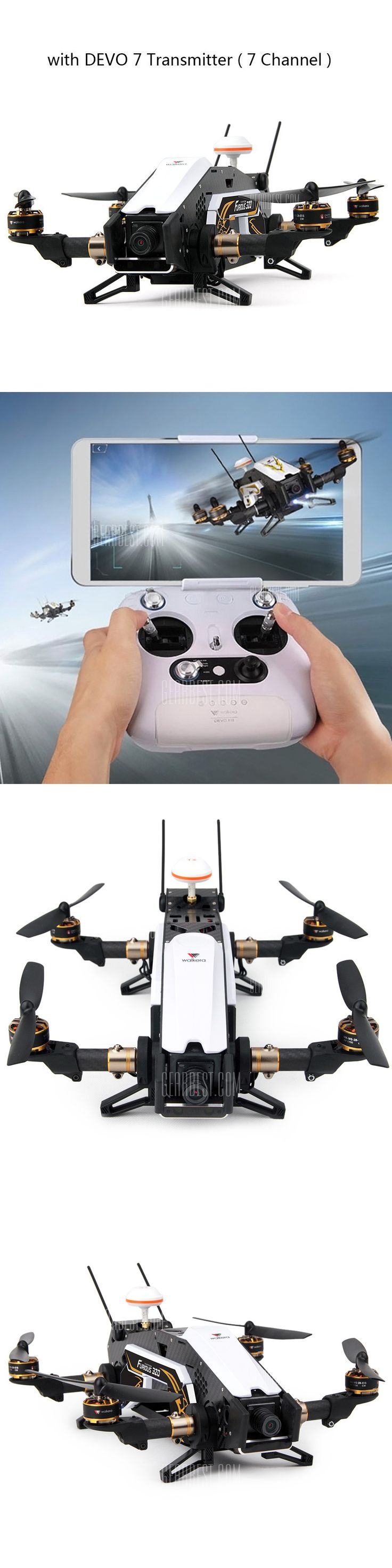 Walkera Furious 320 320G WIFI FPV Drone - FREE SHIPPING - Price: $609.84 - Buy N...