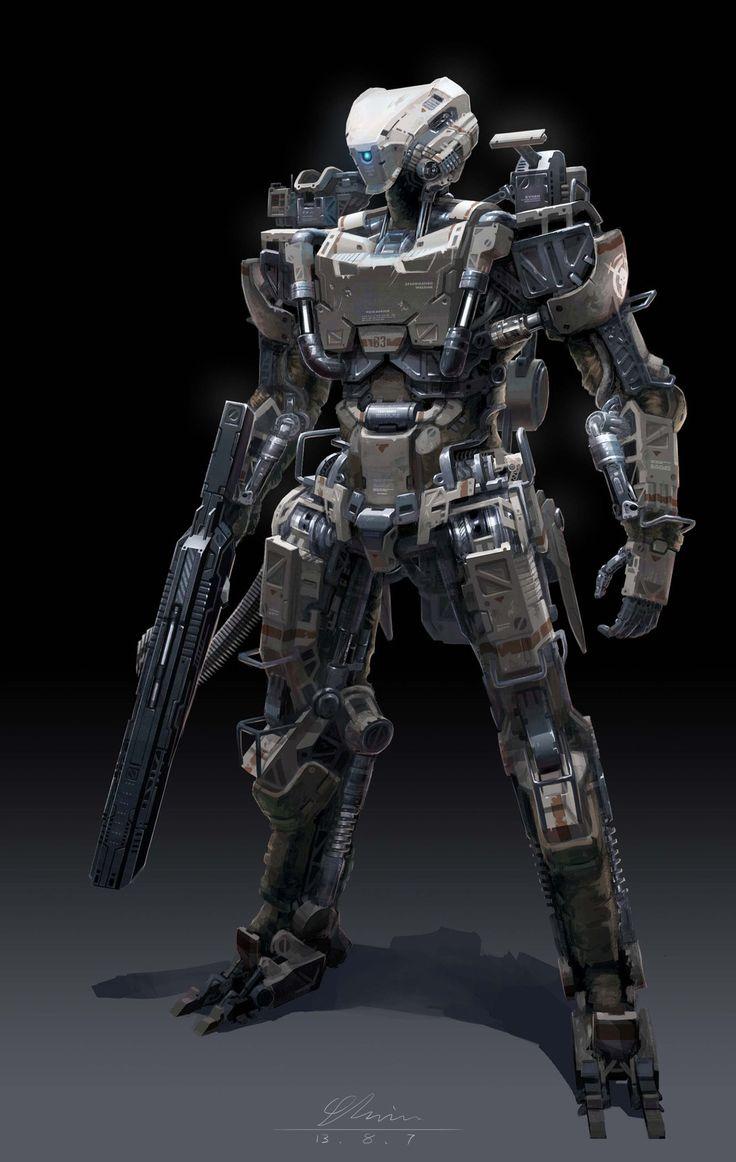 bassman5911: Mechanize Infantry by Yang Yi--- Coolass legs and hydrolic articula...