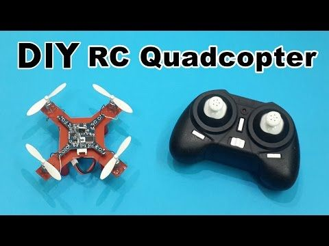 How to Make a Mini RC Quadcopter at Home - DIY Tutorials - Click Here for more i...