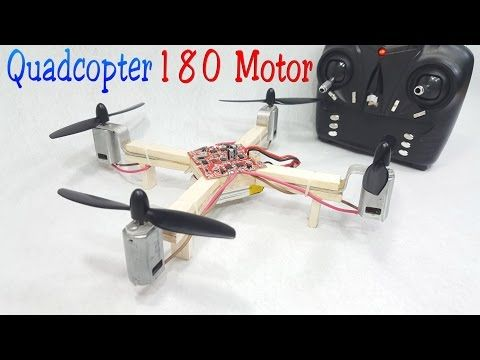 (1) How to make a RC Quadcopter Using 180 motor - YouTube