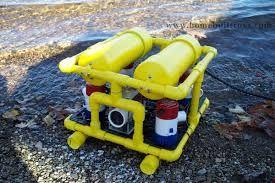 homemade underwater rov