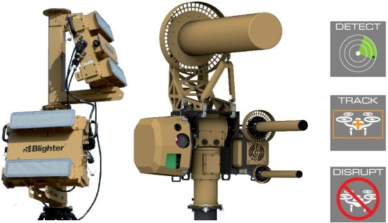 Blighter AUDS Anti UAV Defence System