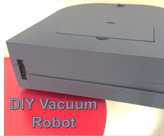DIY Vacuum Robot on the cheap -   all the elements and parts are easy to find on...