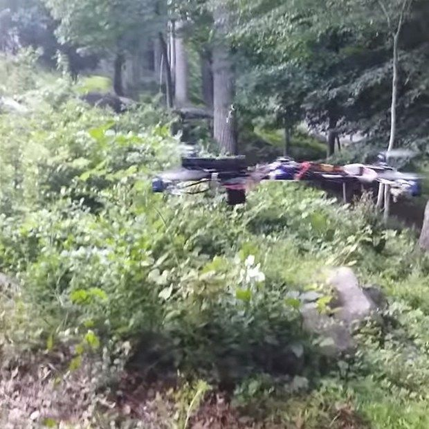 Drone Homemade : Flying Gun | A homemade quadcopter has been modified to fire a ...