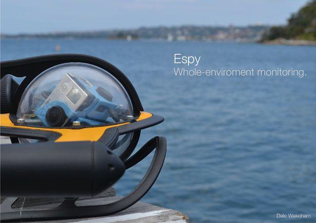 Espy 360 ROV – Underwater Spy Monitors Marine Environment In More Effective an...