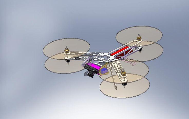 Hexarotor, folding multirotor helicopter - DIY Drones