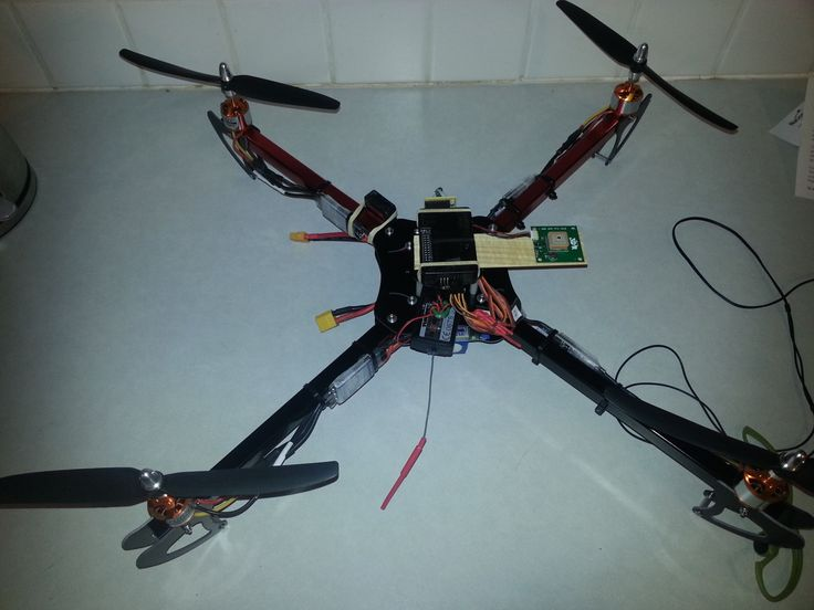 Homemade Drone, APM 2.5, Arducopter 2.9 -with microcontroller!