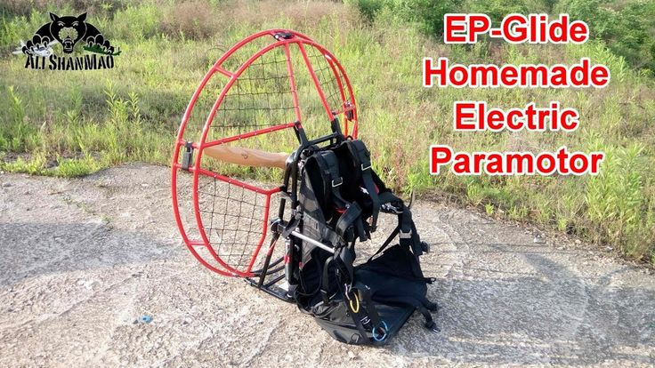 Homemade Electric Paramotor Ground Testing for Power and Thrust