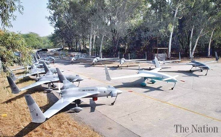 Homemade armed drone, laser-guided missile tested | Pakistan successfully tested...