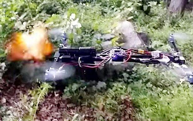 Homemade gun-firing drone video prompts investigation into teen pilot
