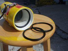 Homemade silicone O-rings and tubing