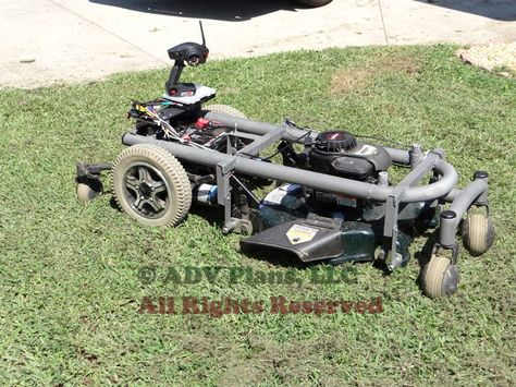 Drone Homemade : How to Build A Remote Control RC Lawn Mower, Full