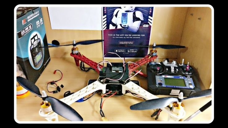How to make a powerfull and high range Quadcopter-drone at home Full tutorial-wi...