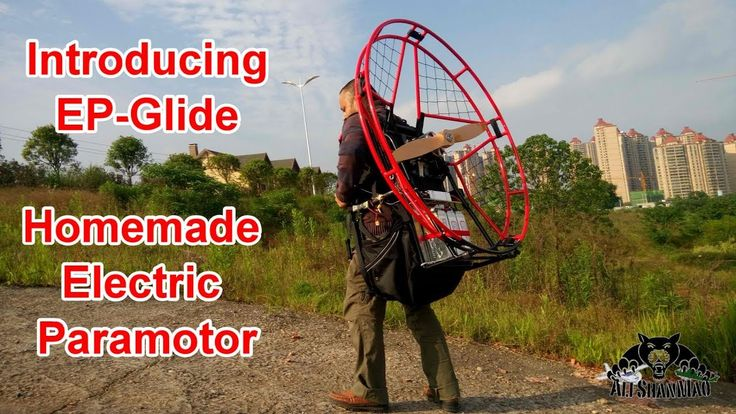 Introducing my Homemade Electric Paramotor V2