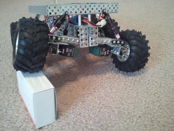 PAROVOZ: 6WD all-terrain robot platform   Let's Make Robots!