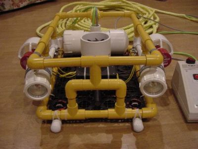 Plans for a DIY ROV?