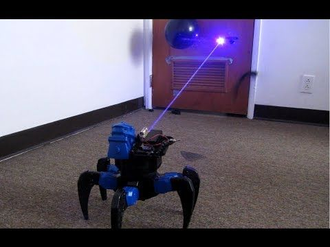 The Coolest Toy Ever - Homemade Lightsaber This beast packs a potent 2W blue las...