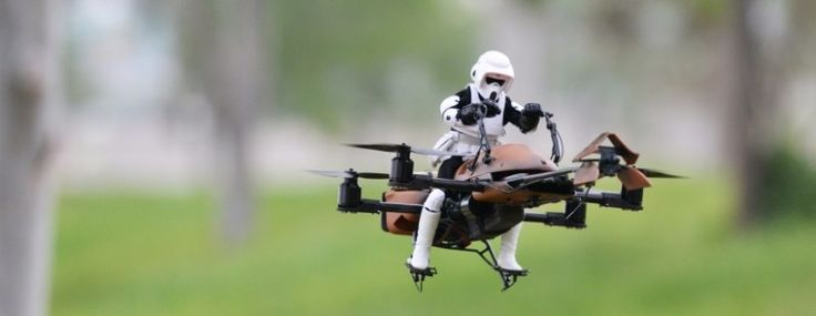 Want to build a DIY Star Wars-themed drone? These people have- I want one!