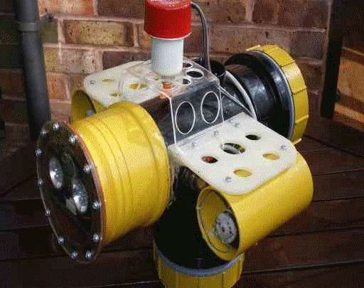 Drone Homemade : underwater-rov