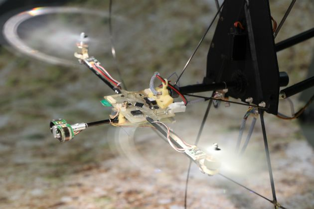 'BeeRotor' drone uses an insect-style eye to navigate tight spaces | Now...