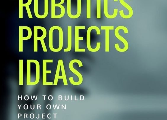 Drone Infographics : Best Robotics project ideas for final year