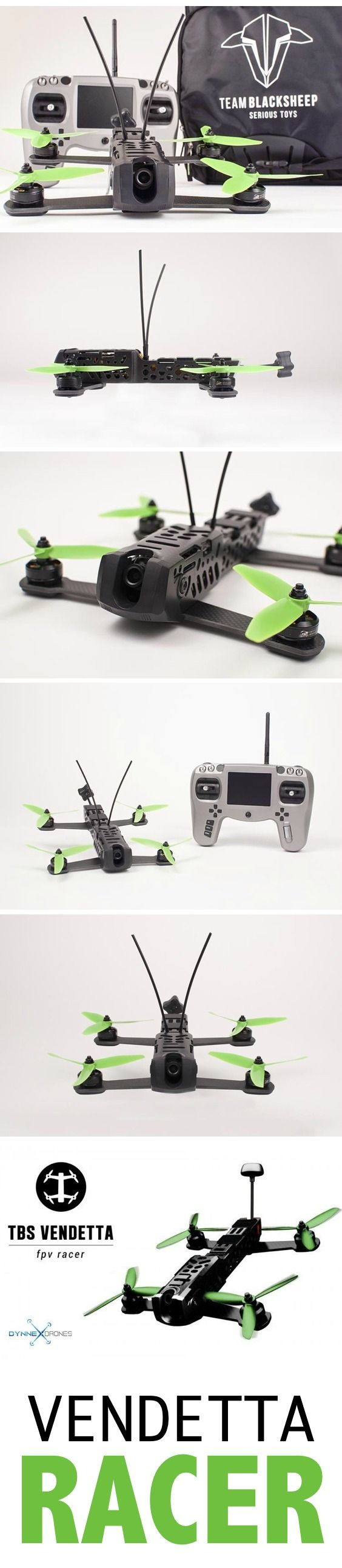 Drones are AWESOME! Put your Team Blacksheep Vendetta into flight today! Start t...