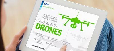 Ebook: La hora de los #drones #ebook #infografía #tech