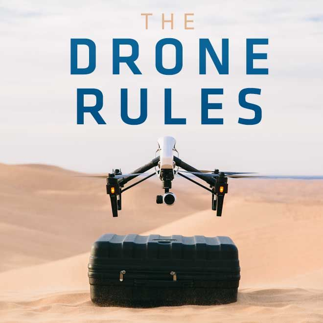Here is a quick overview of the FAA's rules for flying a drone or UAV. It&#3...