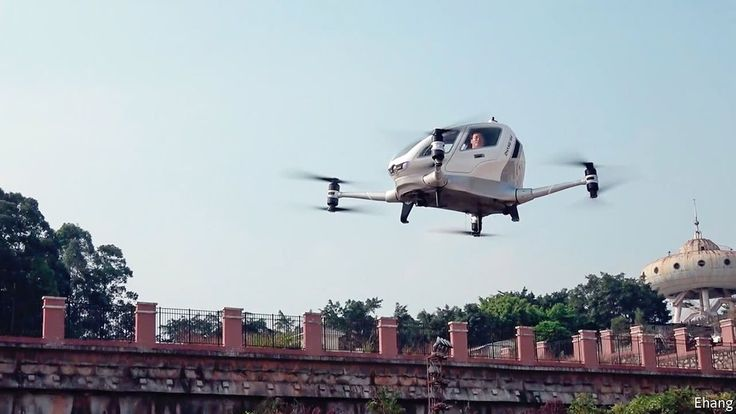 Passenger drones are a better kind of flying car -- Could the dream of soaring ...