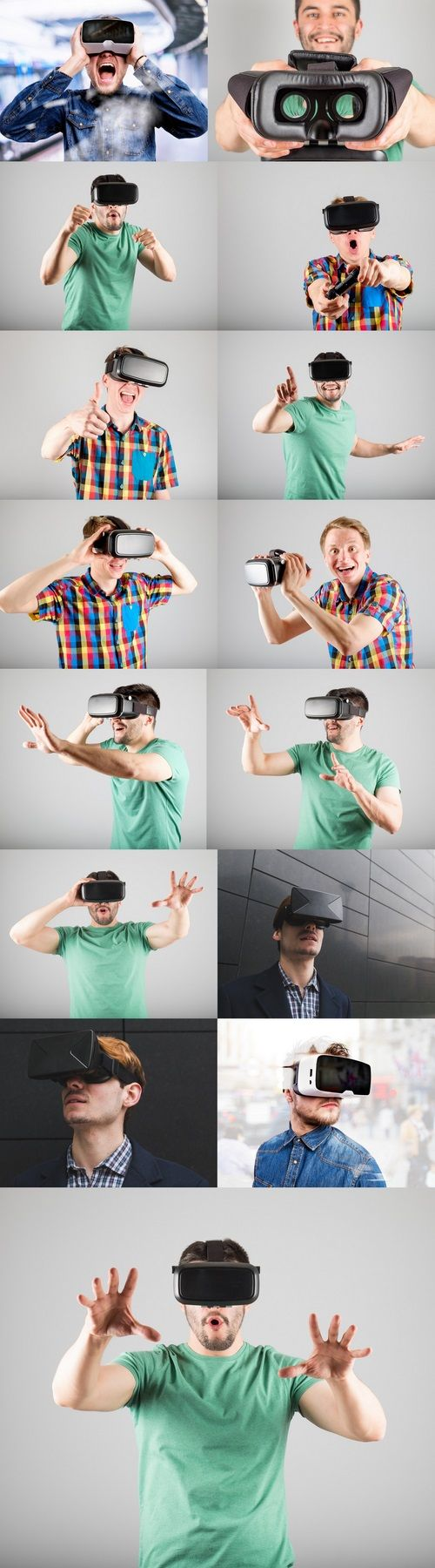 VR goggles transport others into seeing and believing there somewhere they are r...