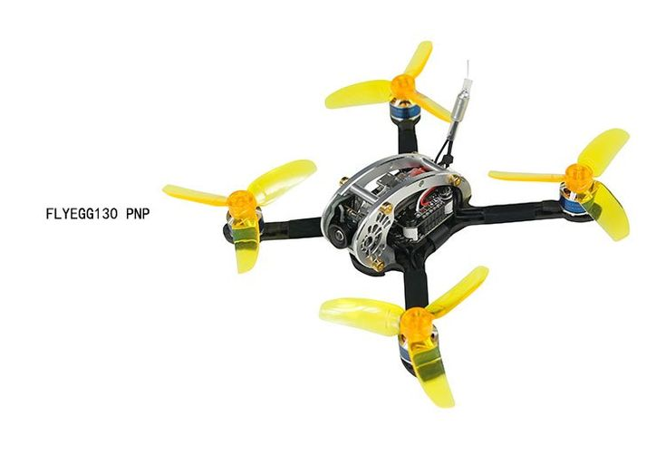 Best choice with US $113.19 Flyegg 130 PNP FPV Racing Mini Indoor Brushless Dron...