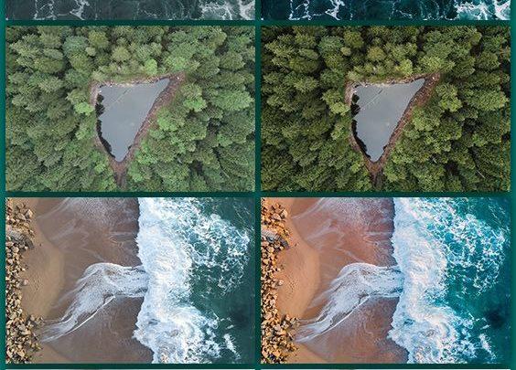 Landscape Drone Photography : DJI Mavic Pro - Professional Lightroom