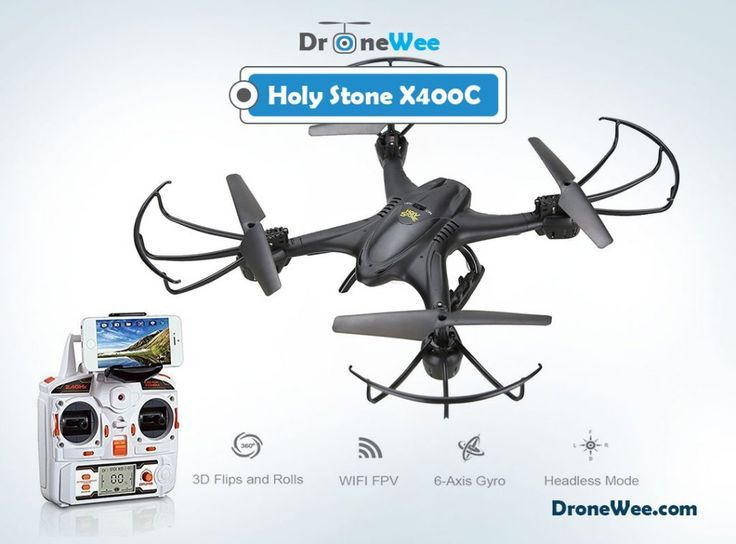 Landscape Drone Photography : HOly Stone X400C : The drone has decent battery wi...