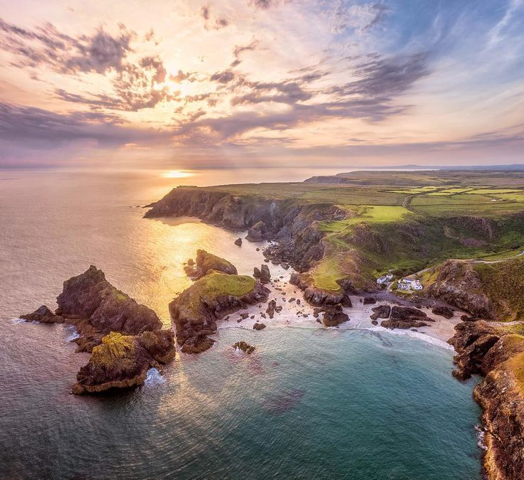 Stunning Drone Photography by Jerome Courtial #inspiration #photography