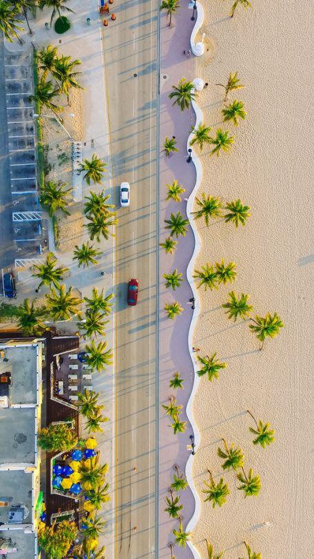 Sunset, Key West, Best Beaches in Florida . Photographer Lance Asper. Drone phot...