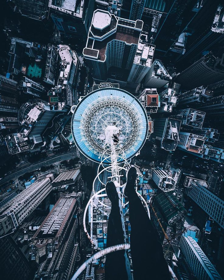 Terrifying Rooftop Photography From The Futurescapes of Shanghai by Jennifer Bin...