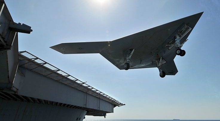Military Drone: Armed Drones Seen as Dogfight-Ready in (Not