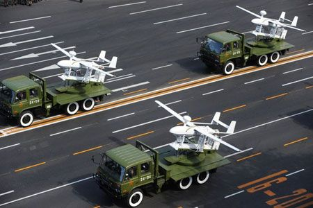 China said that it plans to use unmanned drones to conduct marine surveillance b...