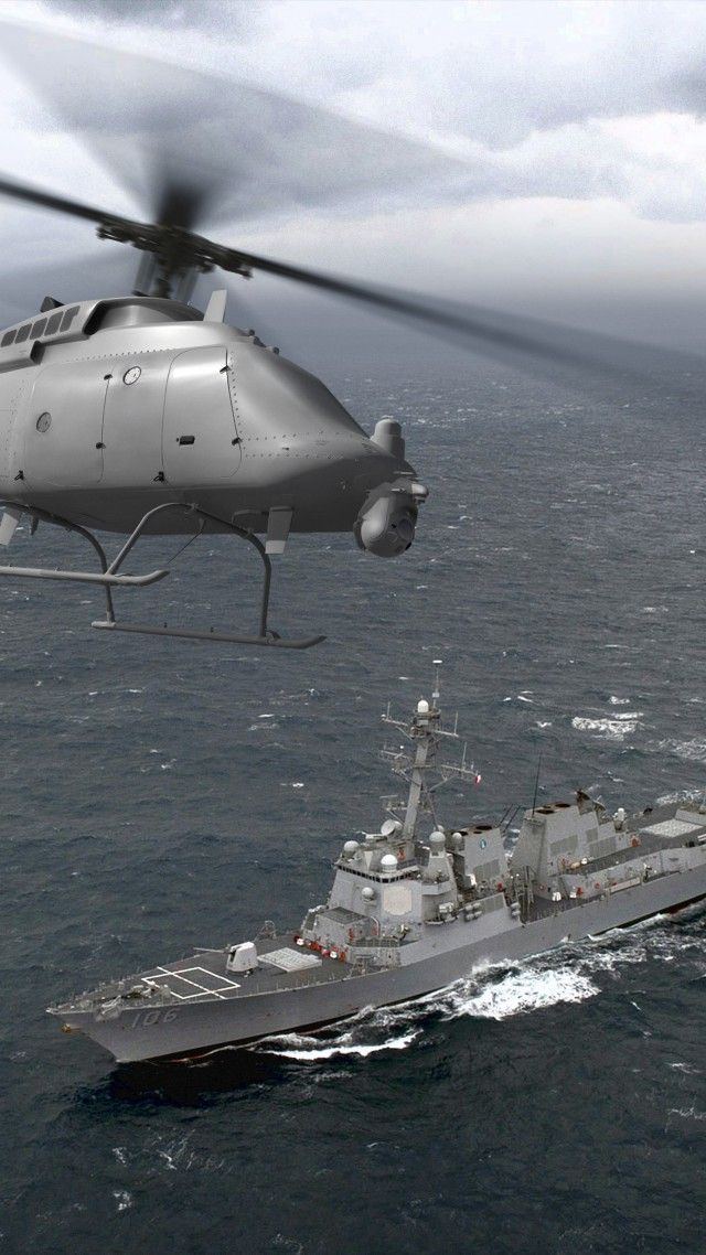 DDG-106, MQ-8C Fire Scout, helicopter, drone, US Army, U.S. Air Force
