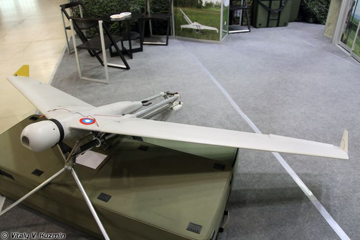 Irkut-3 UAV - Under test