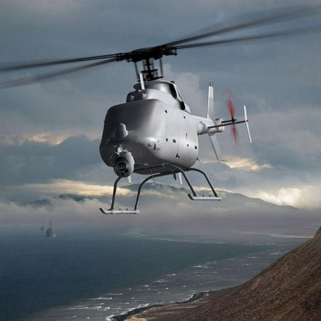 Military Drone: MQ-8C Fire Scout the Ultimate Drone Helicopter