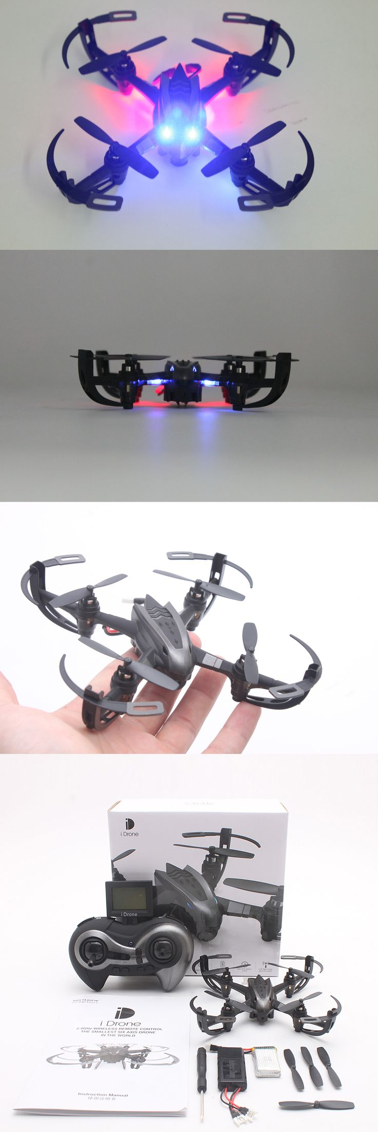 Racing Drone HD Camera I4S with Auto return 2.4Ghz 4CH 6-Axis RC Quadcopter | qu...