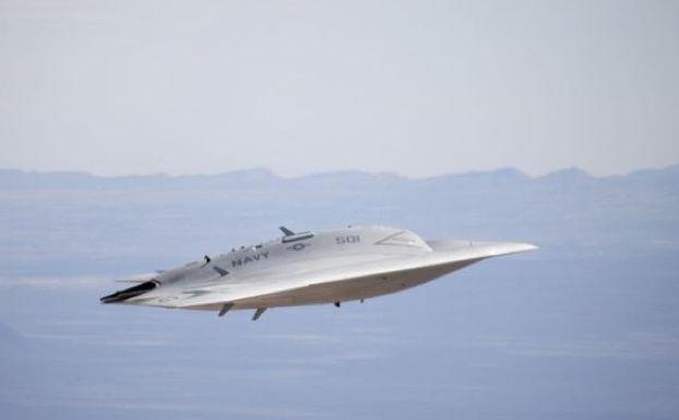 Stealth Drone Soars in Navy Test Flight