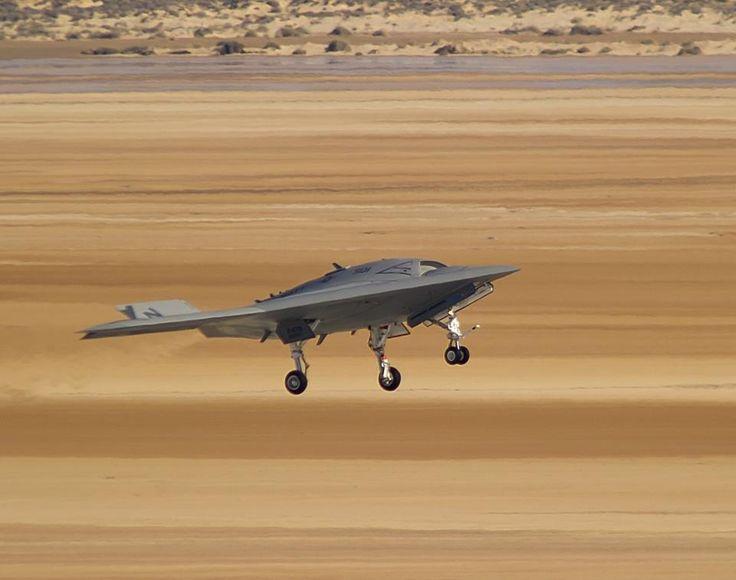 X-47B Unmanned Combat Air System, Drone, UAV, UCAS, Future Aircraft, Futuristic,...