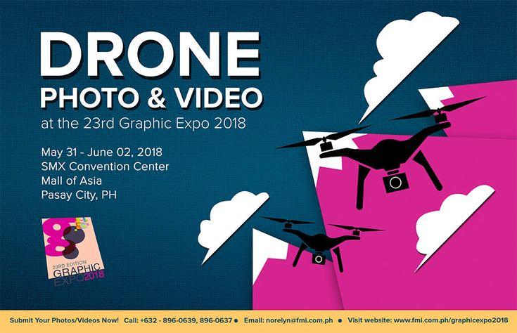 Experience the world of drones at the 23rd Graphic Expo 2018 Ari Simon.security ...