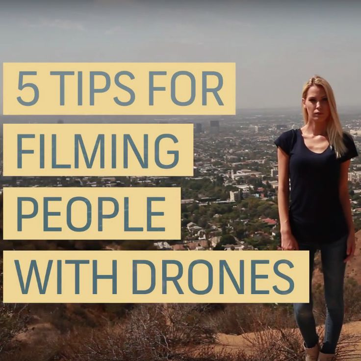 How to Improve You Workflow While Filming People With a Drone