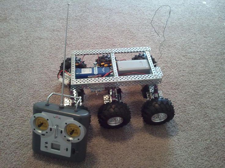 PAROVOZ: 6WD all-terrain robot platform  | Let's Make Robots! | RobotShop