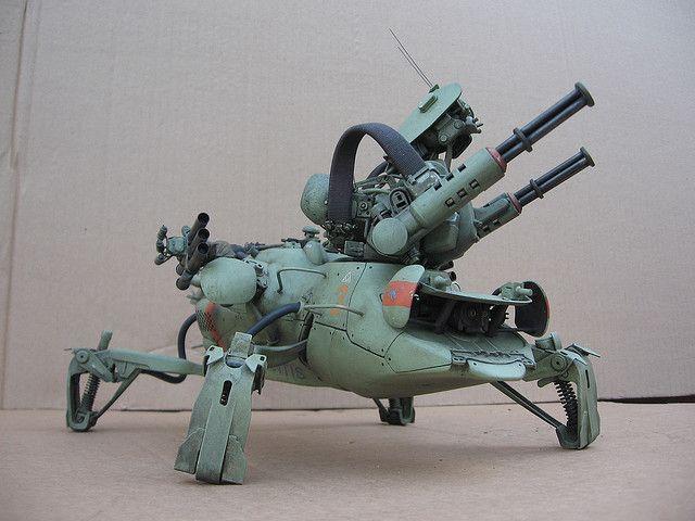 Mantis by Mark`Stevens ModelCrafter.