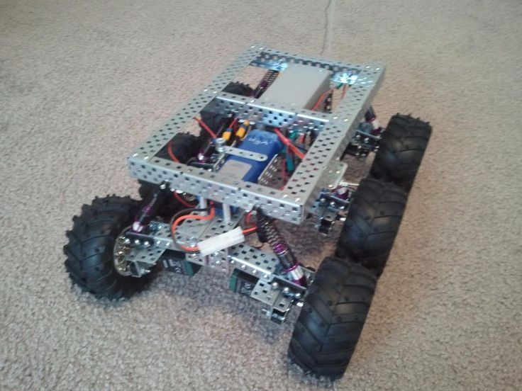 Drone Homemade : PAROVOZ: 6WD all-terrain robot platform  | Let's Make Robot...